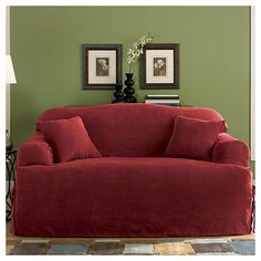 Found It At Wayfair   Soft Suede Sofa T Cushion Slipcover