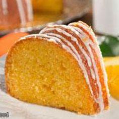 Orange Juice Cake. Five servings of fruit a day?