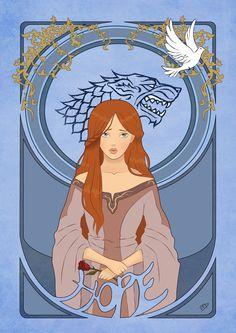 Sansa Stark by Kasami-Sensei.deviantart.com on @deviantART