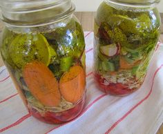Spicy Mixed Vegetable Pickles Recipe