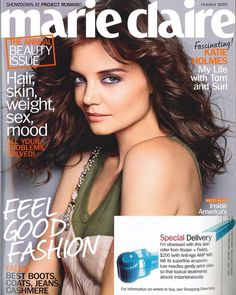 Best minute spent in skincare-AMP MD roller featured in Marie Claire!