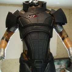 EVA Foam Mass Effect N7 armor