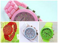 Espectaculares relojes Geneva para que des un toque de estilo a tu personalidad.