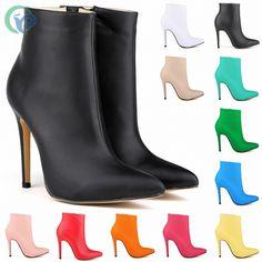 Pas cher Luolandifenyaguang chaussures pointu Ultra hauts talons de démarrage avec l'europe et a Low Boots, Acheter  Bottes pour femmes de qualité directement des fournisseurs de Chine:                                          Avis: s'il vous plaît vérifier votre pied longueur,                A