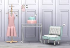 Sims 4 CC's - The Best: Furniture & Objects by Dani Paradise