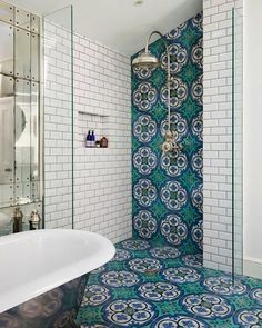 Bathroom Wall Tile Idea Picture 10 top Trends In Bathroom Tile Design for 2020 Bathroom Tile Designs, Bathroom Colors, Bathroom Interior Design, Small Bathroom, Bathroom Ideas, Bathroom Goals, Master Bathroom, Bathroom Remodeling, Remodel Bathroom