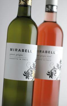 Mirabello – Wine  Spirit International Design Awards 2008 Silver Medal