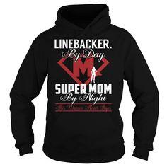 Linebacker. Super Mom Job Title TShirt