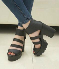 high heels sandals :-)
