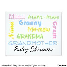 Grandmother Shower Cake Grandma Shower Cake Baby