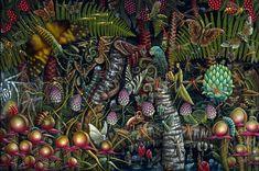 The Dense Microcosmic Worlds of Painter Robert S. Connett