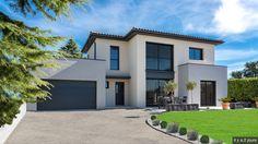 3d Interior Design, Exterior Design, Home Building Design, House Design, Facade House, My Dream Home, Future House, Luxury Homes, House Plans