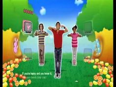 Happy and you Know it Just Dance Kids - YouTube