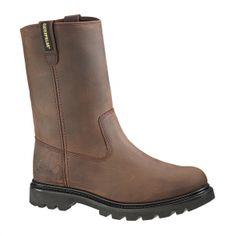 Revolver ST Wellington Dk Brown Caterpillar Boots #caterpillar #catapparel #catboots #boots #workboots #catclothing #construction #forsale #repost