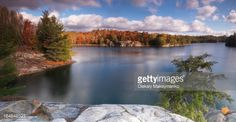 View top-quality stock photos of Beautiful Fall Morning Landscape Panoramic Nature Scenery At Lake George Killarney Provincial Park Ontario Canada. Find premium, high-resolution stock photography at Getty Images. Free Screensavers, Autumn Morning, Lake George, World Heritage Sites, Wonders Of The World, Wilderness, Around The Worlds, Landscape, Park