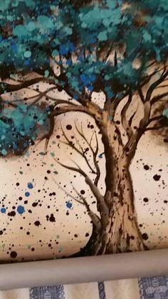 Feitas à mão Pintura A Óleo Sobre Tela Árvore Flor Vermelha Pintura A Óleo Abstrata Moderna da Arte Da Parede Da Lona Sala de estar Decoração Imagem Loja Online   aliexpress móvel Watercolor Tattoo, Wall Decor, Drawings, Artwork, Aliexpress, Painting, Oil Painting On Canvas, Diy Painting, Flower Watercolor