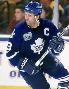 Doug Gilmour will don the blue and white