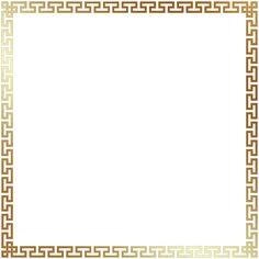 Greek Style Border Frame Transparent Clip Art Image | Gallery Yopriceville    High Quality