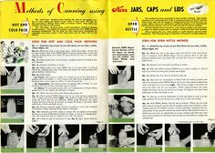 From a 1948 Kerr canning brochure, http://whatscookinvt.wordpress.com/2012/07/18/kerrful-canning-preservation/#