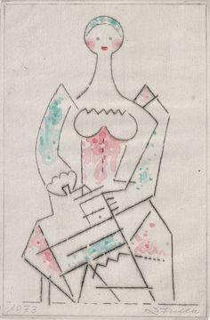 Žena v kroji,Ľ.Fulla