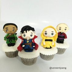 These 'Doctor Strange' Cupcakes Must Have Magical Powers