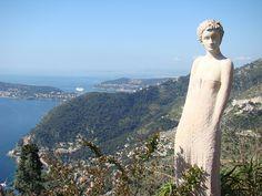 Statue of a Woman by Ondrej Pluhacek on 500px | Èze - France ...