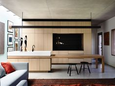 Rob Kennon Architects | sarah darling house, kitchen, timber,