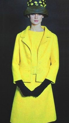 Jean Shrimpton wearing Lanvin, Summer 1965