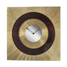 Jasper Clock by Nova Lamps