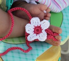 Crochet Baby Booties  Baby Barefoot Sandals by TheBabyCrow on Etsy, $15.00