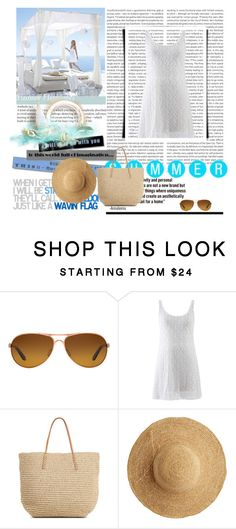 """SUMMER!!!"" by thefashion007 ❤ liked on Polyvore featuring Oakley, Target, Flora Bella and Oris"