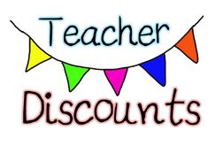 The Container Store: A good teacher is an organized teacher and The Container Store has an Organized Teacher Discount Program which allows teachers to sign-up for free and receive various exclusive coupons and discounts all year long.