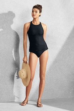 ae4e50cfed Try our Women s High-neck Tankini Top at Lands  End.
