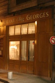 Julia Child adored Chez Georges. Can't wait to dine here. Apparently the atmosphere and menu haven't changed a lick.