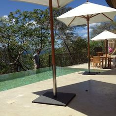 Another view of our Infinity Pool