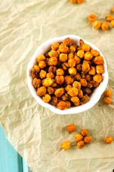 Spicy Roasted Cajun Chickpeas