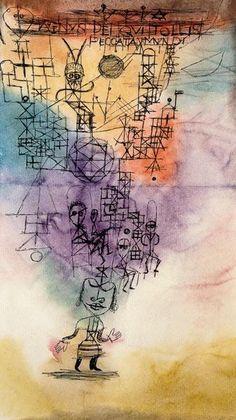 Paul Klee - Agnus Dei, die peccata mundi Tollis