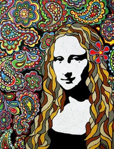 Mona Lisa More Pins Like This At : FOSTERGINGER @ Pinterest.