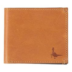 Tan leather wallet from Jack Wills