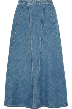 Michael Kors Collection | Denim skirt | NET-A-PORTER.COM