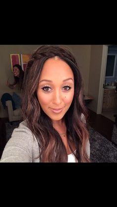 Tamera Mowry hair and makeup. Love!