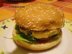 Ricette Vegane di Creargiocando: Hamburger di ceci
