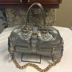 Selling this Marc Jacobs Venetia quilted leather satchel in my Poshmark closet! My username is: b287807. #shopmycloset #poshmark #fashion #shopping #style #forsale #Marc Jacobs #Handbags