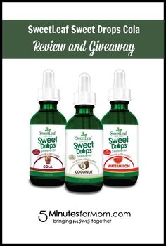 @SweetLeafStevia Sweet Drops. Enter to #WIN 25 trial size bottles of different flavors! #sponsored #giveaway