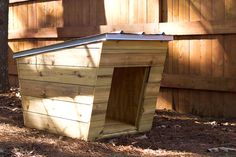 Modern dog house instructions $5