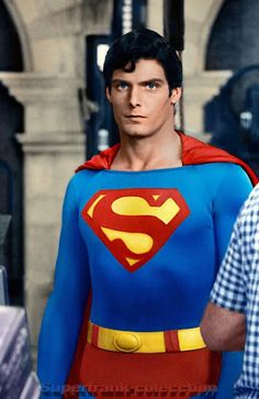 Chis Reeve. Superman