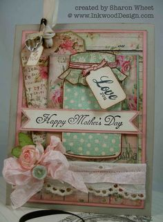 Designs by Sharon: Shabby Spring