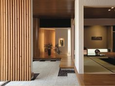 Entrance and hallway idea Modern Japanese Architecture, Japanese Style House, Japanese Interior Design, Japanese Home Decor, Japanese Modern, Japanese Design, Modern Interior, Interior Styling, Interior Architecture