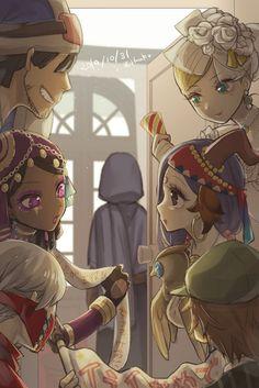 V Games, Identity Art, Cool Drawings, Anime, Princess Zelda, Fan Art, Artwork, Fictional Characters, Twitter