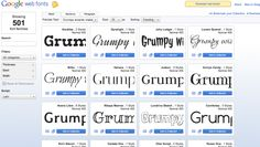 google web fonts and how to use them